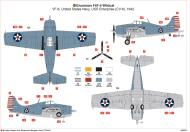 Asisbiz Grumman F4F 4 Wildcat VF 6 Black 6F9 aboard CV 6 USS Enterprise 1942 0A