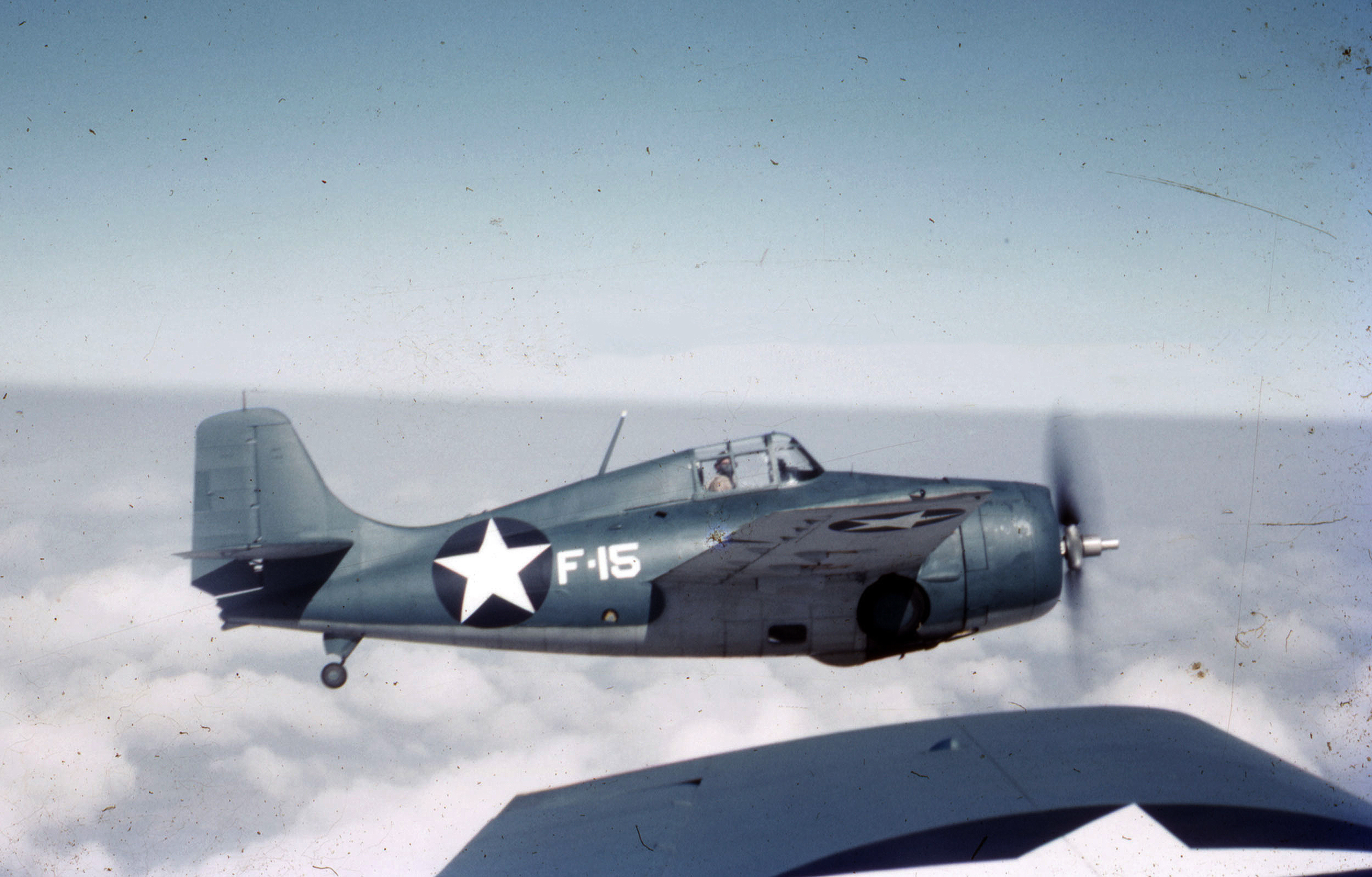 Grumman F4F 3 Wildcat White F15 on patrol 01