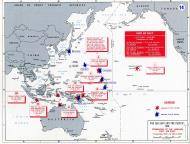 Asisbiz A Map WWII showing First Air Fleet operations March 1942