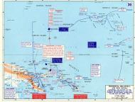 Asisbiz A Map WWII showing Operation Cartwheel Jun 1943 to Apr 1944
