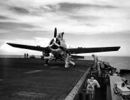 Asisbiz Aircrew Ensign R K Rountree photo series FM 1 Wildcat Black 14 preparing for flight April 1944 01