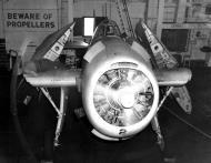 Asisbiz Aircrew TBF Avenger pilot Ensign R K Rountree maintenance crew working on Black 2 April 1944 01