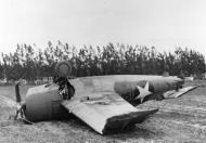 Asisbiz FM 1 Wildcat VC 25 Black 156 landing mishap ashore 1943 01