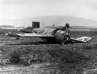 Asisbiz FM 1 Wildcat VC 25 Black 156 landing mishap ashore 1943 02