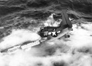 Asisbiz FM 2 Wildcat VC 68 White 08 ditched Ed White Van Hise Jr 1945 01