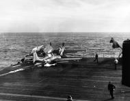 Asisbiz General Motors FM 1 Wildcat White L12 BuNo 46789 CVE 61 USS Manila Bay 16th Dec 1943 01
