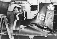 Asisbiz General Motors FM 2 Wildcat VC 94 White 16 BuNo 73982 CVE 84 USS Shamrock Bay Okinawa 1945 01