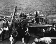 Asisbiz Grumman F4F 3 Wildcat VF 17 White 86F17 after a landing mishap 01