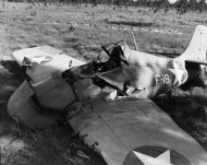 Asisbiz Grumman F4F 3 Wildcat White F18 force landing 01