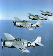Asisbiz Grumman F4F 4 Wildcat Black 8, 5, 2 and 4 painted in the Atlantic scheme 01