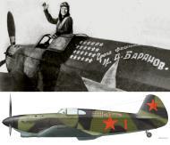 Asisbiz Yakovlev Yak 1 183IAP 269IAD Red 1 flown by Mikhail D Baranov Stalingrad front 1942 02