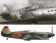 Asisbiz Yakovlev Yak 1 183IAP 269IAD Red 1 flown by Mikhail D Baranov Stalingrad front 1942 0B