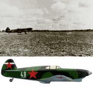 Asisbiz Yakovlev Yak 1 1GvIAP 209IAD White 49 flown by Lt VI Klimenko Kalinin front Aug 1942 0A