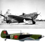 Asisbiz Yakovlev Yak 1 20IAP White 27 flown by SnrLt EV Petrenko at Vaenga 1 airfield summer 1942 0A