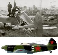Asisbiz Yakovlev Yak 1 21IAP KBF White 9 Baltic Fleet Sgt Vasilii I Tkachyov damaged in combat 11th Sep 1942 02