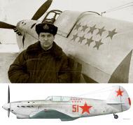 Asisbiz Yakovlev Yak 1 21IAP VVS KBF Red 51 flown by HSU YZ Slepenkov winter 1942 43 0A