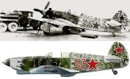 Asisbiz Yakovlev Yak 1 27GvIAP Red 23 flown by Capt Georgy Nikonorovich Zhidov 1941 42 0A