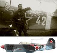 Asisbiz Yakovlev Yak 1B 152GvIAP 270IAD White 42 with Lt GA Merkviladze Germany 1945 0B
