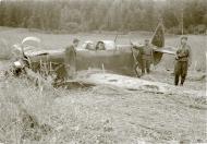 Asisbiz Yakovlev Yak 1B 197IAP 3243IAD Red 38 belly landed Pitkyaranta area Karelian front July 1944 01