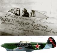 Asisbiz Yakovlev Yak 1B 31GvIAP Boris Eryomin's presentation aircraft from the Saratov region Dec 1942 01a