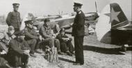 Asisbiz Yakovlev Yak 1B 3GvIAP KBF with their political education n mandatory lecture Lennigrad area 1942 01