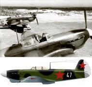Asisbiz Yakovlev Yak 1B 3GvIAP White 47 and 24 Nikolai P Kucherov Lavensaari airfield Jul Aug 1943 0B