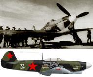 Asisbiz Yakovlev Yak 1B 55GvIAP 1GIAD White 34 collective farmers with HSU Maj Shishkin Central front 1943 0A