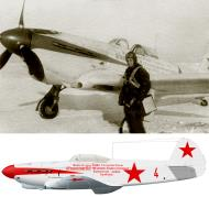 Asisbiz Yakovlev Yak 1B 55GvIAP 220IAD Red 4 collective farmers with cmdr MA Ivanov at Stalingrad 1942 0A