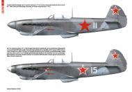 Asisbiz Yakovlev Yak 1B profiles from Polish magazine Militaria 2012 No 3(48) page 22