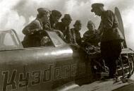 Asisbiz Yakovlev Yak 7A 12GvIAP slogan Novosibirskii Komsomol with 7 Komsomol Kuzbassa spring 1942 06