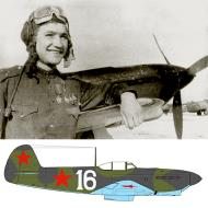 Asisbiz Yakovlev Yak 7B 157IAP 273IAD White 16 behind Andrey Borovykh Belorussian Front 1943 01