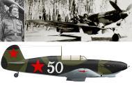 Asisbiz Yakovlev Yak 7B 18GvIAP White 50 with regiment cmdr AE Golubov Hatenki spring 1943 0A