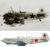Asisbiz Yakovlev Yak 7B 21IAP Red 7 flown by LA Bryzhko accident engine failure Mar 1943 0A