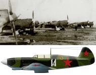 Asisbiz Yakovlev Yak 7B 29GvIAP White 14 flown by Major AV Chirkov at Uglovob Leningrad front 1943 0B
