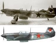 Asisbiz Yakovlev Yak 7B 42IAP 240IAD Red 8 flown by Cmdr FI Shinkarenko Dec 1942 0A