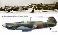 Asisbiz Yakovlev Yak 7B 43IAP White 26 line up in summer 1943 0A