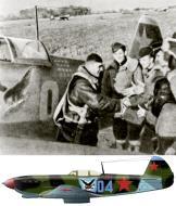 Asisbiz Yakovlev Yak 7T 4IAP Blue 04 with IN Stepanenko Baltics autumn 1944 0A Copy
