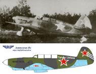 Asisbiz Yakovlev Yak 7V 115GvIAP 7GIAD slogan Tarybu Lietuva Pociunai airfield Lithuania 1943 0A
