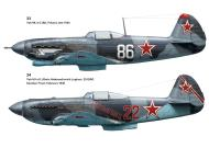 Asisbiz Profiles from Yakovlev Aces of World War 2 by Osprey Aircraft of the Aces 64 page 45