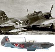 Asisbiz Yakovlev Yak 9 12GvIAP Red 26 flown by SnrLt Stepan Mikoyan 1944 0A