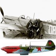 Asisbiz Yakovlev Yak 9 32GvIAP White 08 slogan For Volodya with Vasily Stalin Mar 1943 0A