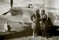 Asisbiz Yakovlev Yak 9 47IAP 32IAD White 50 with Lt Ivan F Klochkov and JrLt Dmitry I Teterin Sov Japan 1945 01