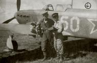 Asisbiz Yakovlev Yak 9 47IAP 32IAD White 60 with Cmdr 2Sqn NV Rubtsov (R) Sov Japan 1945 01