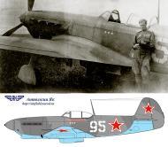 Asisbiz Yakovlev Yak 9 47IAP 32IAD White 95 with deputy Cmdr Maj Ivan A Vishnyakov Sov Japan 1945 01