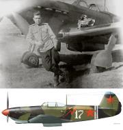 Asisbiz Yakovlev Yak 9 4IAP White 17 flown by SnrLt Ivan N Stepanenko Bryansk Jul 1943 0B