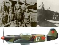 Asisbiz Yakovlev Yak 9 4IAP White 17 flown by SnrLt Ivan N Stepanenko Bryansk Jul 1943 0C