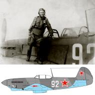Asisbiz Yakovlev Yak 9 535IAP 32IAD White 92 bird emblem Far Eastern Front 1945 03