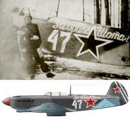 Asisbiz Yakovlev Yak 9 65GvIAD White 47 with AN Kilaberidze Baltic Front 1944 0A