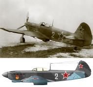 Asisbiz Yakovlev Yak 9D 148GvIAP 106IAD White 2 SnrLt NL Chasnyk taranil air defense night of 1st April 1944 01