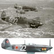 Asisbiz Yakovlev Yak 9D 6GvIAP VVS ChMF White 22 Mikhail Grib over Crimean peninsula 1944 0B
